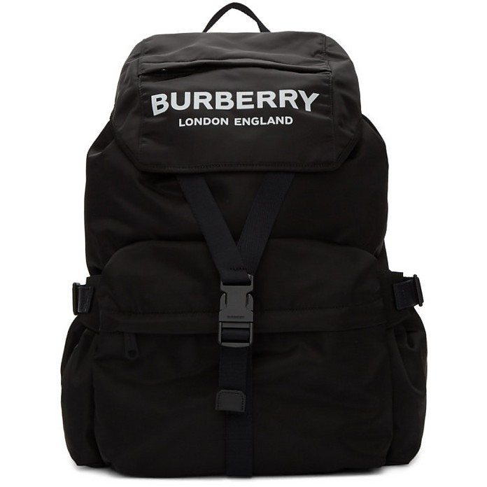 Black Wilfin Backpack - Burberry