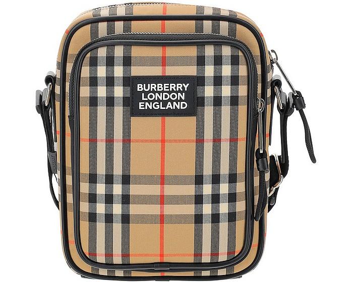 Vintage Check Crossbody Bag - Burberry