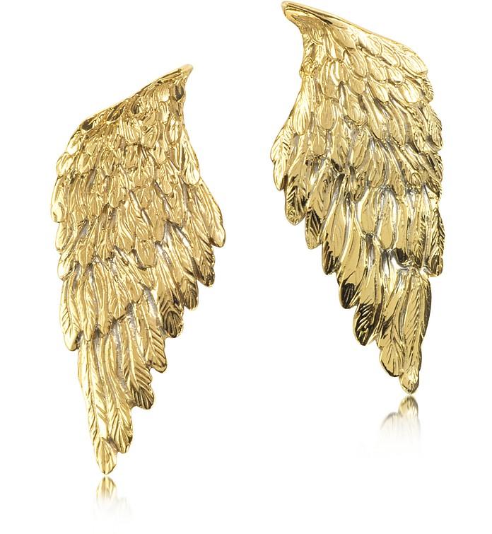 Bronze Wings Earrings - Bernard Delettrez