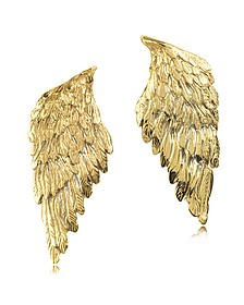 Bronze Wings Earrings - Bernard Delettrez