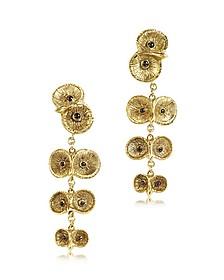 Bronze 4 Owls Earrings