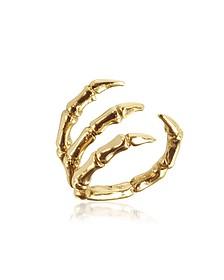 Ring aus vergoldeter Bronze - Bernard Delettrez