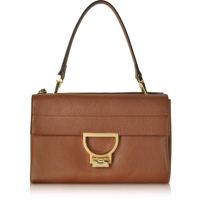 Brule Pebbled Leather Arlettis Shoulder Bag - Coccinelle