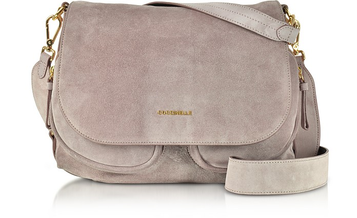 Janine Suede Shoulder Bag - Coccinelle