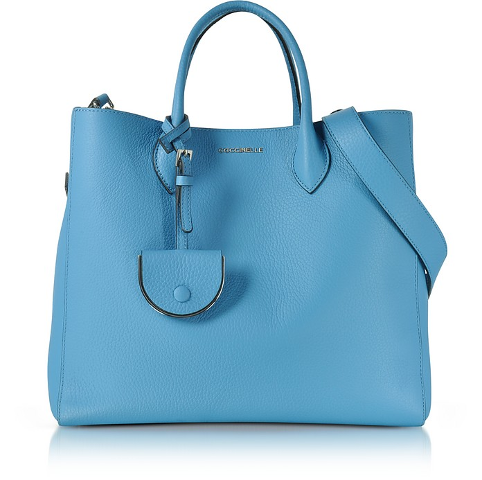 Jamila Pebbled Leather Tote - Coccinelle