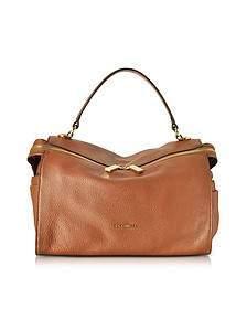 Atsuko Leather Satchel Bag - Coccinelle