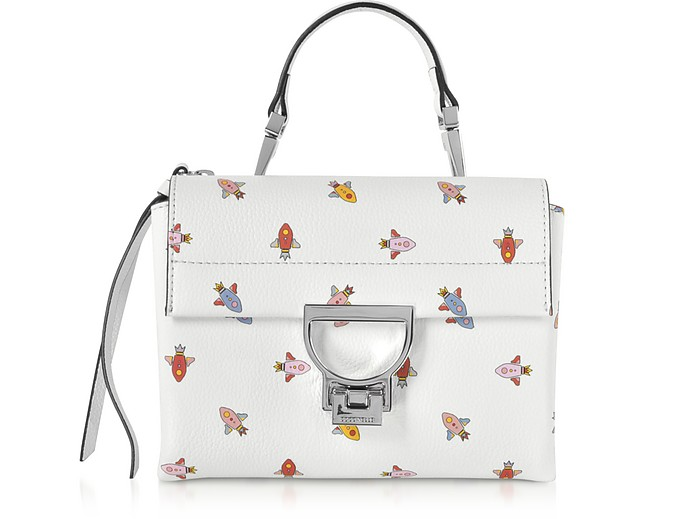 Arlettis Mini Razzo Printed Leather Shoulder Bag - Coccinelle