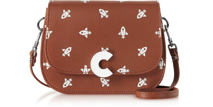 Craquante Razzo Printed Leather Small Shoulder Bag - Coccinelle / コチネッレ