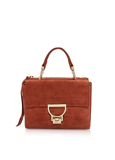 Arlettis Suede Mini Bag w/Shoulder Strap - Coccinelle