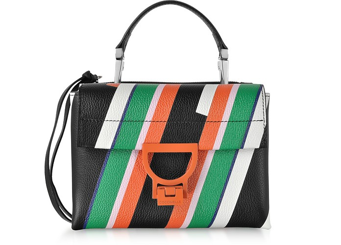 Arlettis Stripes Mini Bag w/Shoulder Strap - Coccinelle
