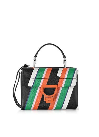 Arlettis Stripes Mini Bag w/Shoulder Strap - Coccinelle