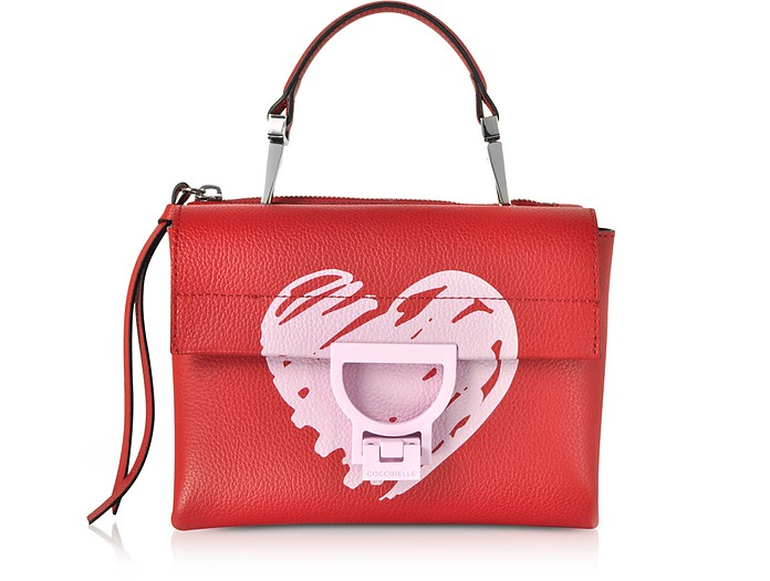 Arlettis San Valentino Leather Shoulder Bag - Coccinelle