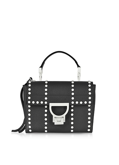 Arlettis Mini Special Studs Leather Shoulder Bag - Coccinelle