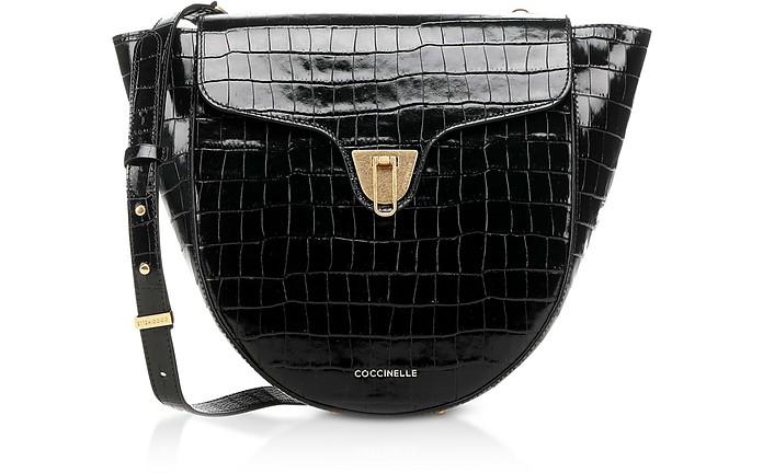 Beat Croco Shoulder Bag - Coccinelle