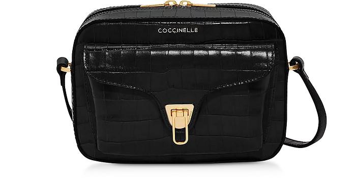 Beat Camera Bag in Pelle Cocco con Tracolla - Coccinelle