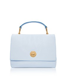Grainy Leather Medium Liya Satchel Bag  - Coccinelle