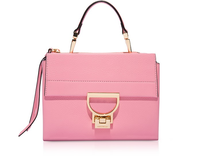 Arlettis Sorbet Pink Leather Mini Bag - Coccinelle
