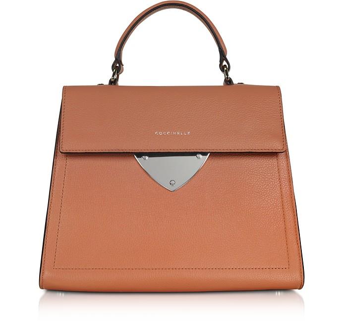 B14 Leather Satchel Bag - Coccinelle