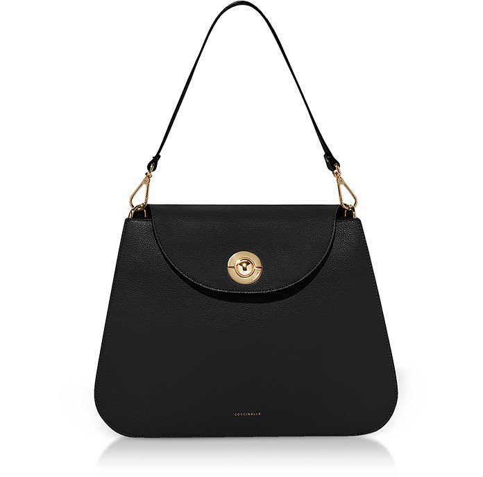 Jalouse Leather Shoulder Bag - Coccinelle