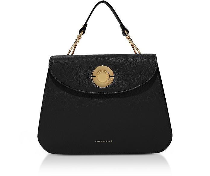 Jalouse Leather Flat Shoulder Bag - Coccinelle