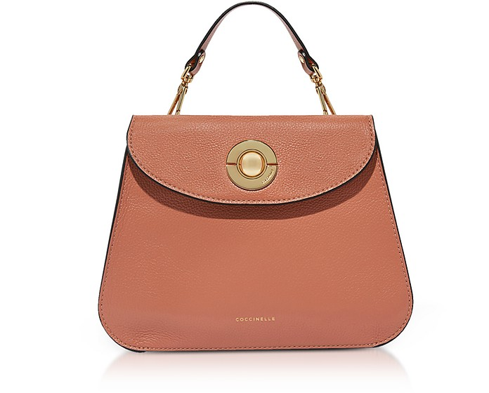 Jalouse Leather Flat Shoulder Bag - Coccinelle