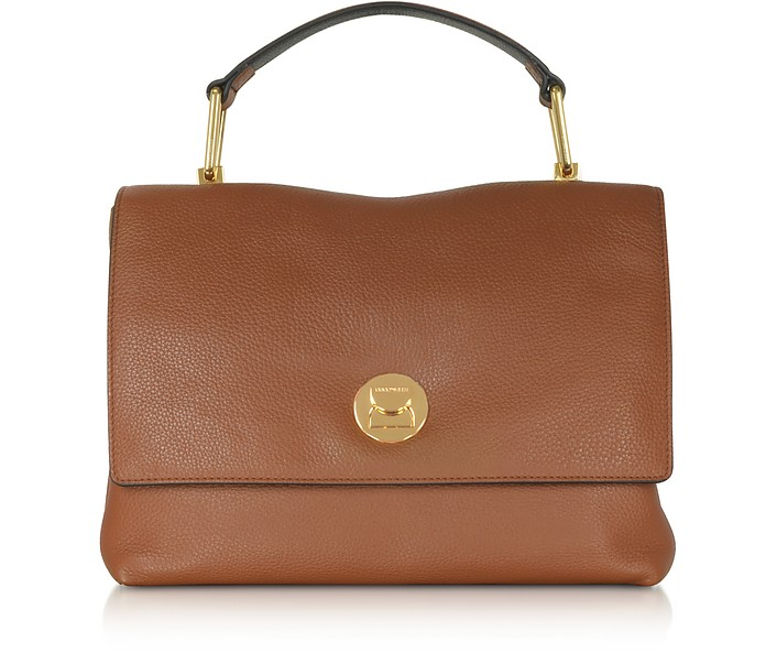 Liya Genuine Leather Satchel Bag - Coccinelle