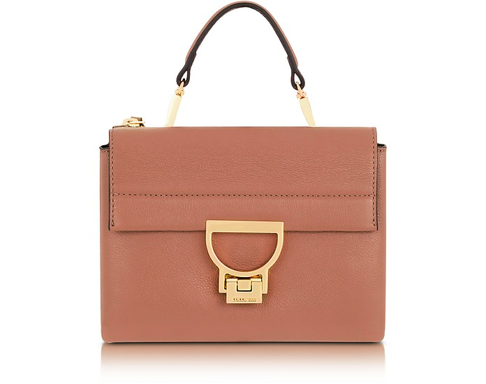 Arlettis Mini Leather Bag with Shoulder Strap - Coccinelle