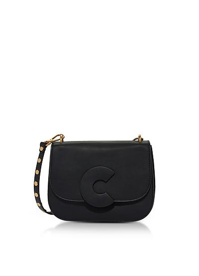 Craquante Rock Medium Shoulder Bag w/Studded Shoulder Strap - Coccinelle