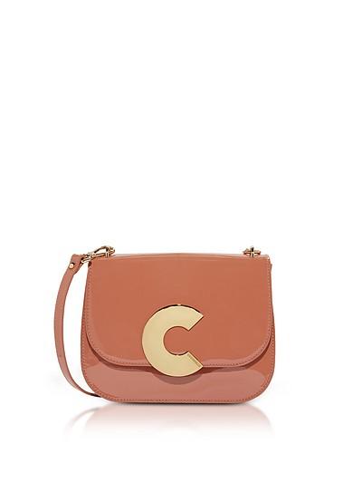 Craquante Rock Medium Patent Leather Shoulder Bag - Coccinelle
