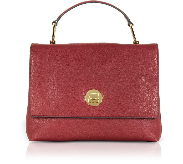 Liya Leather Satchel Bag - Coccinelle