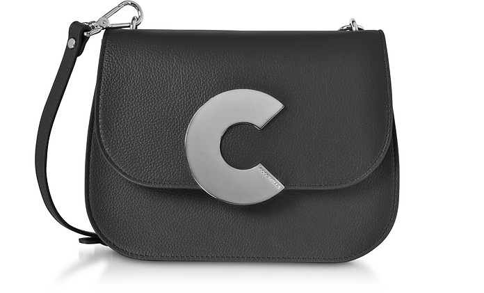 Craquante Grained Leather Medium Crossbody Bag - Coccinelle