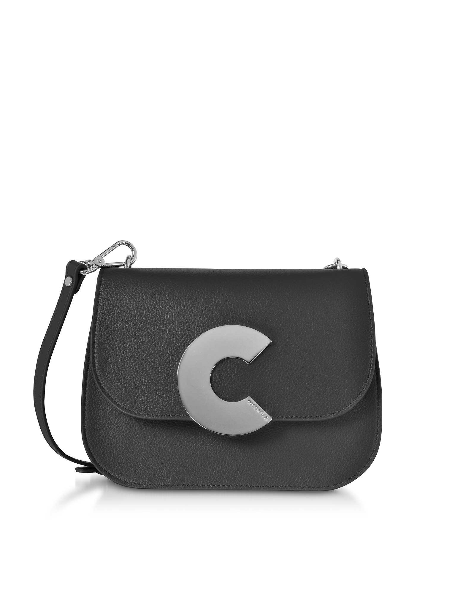 Coccinelle Craquante Grained Leather Medium Crossbody Bag  645aff72436a3