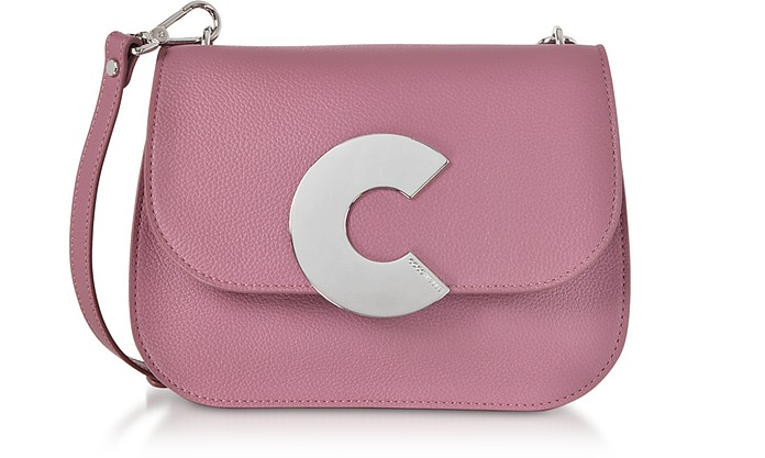 Craquante Grained Leather Medium Crossbody Bag - Coccinelle / コチネッレ