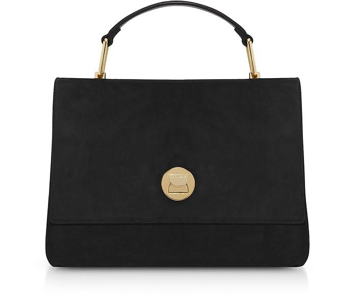 Medium Liya Suede Shoulder Bag - Coccinelle