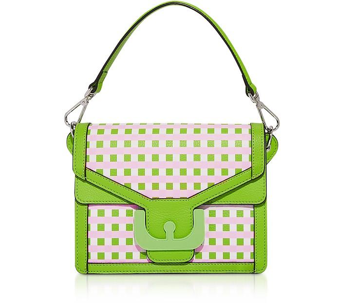 Ambrine Vichy Print Shoulder Bag - Coccinelle