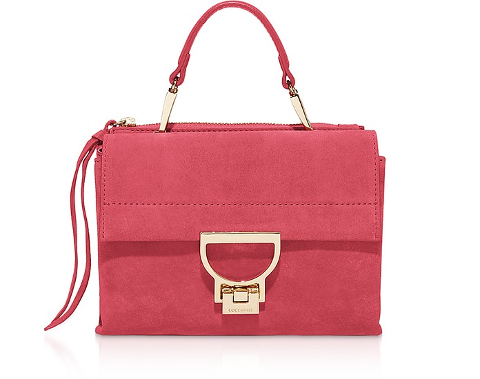 Arlettis Suede Top Handle Crossbody Bag - Coccinelle