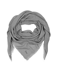 Coton Wrap With Fringe Detailing