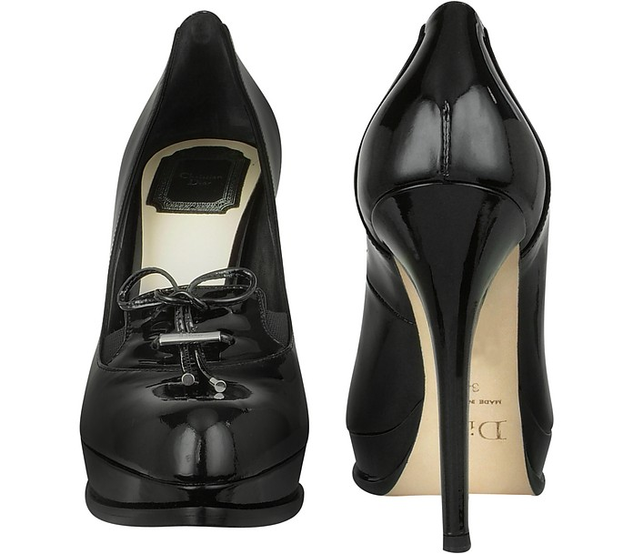 5b67a09a8e Corset Black Patent Leather Platform Pump Shoes - Christian Dior. $735.00  Actual transaction amount