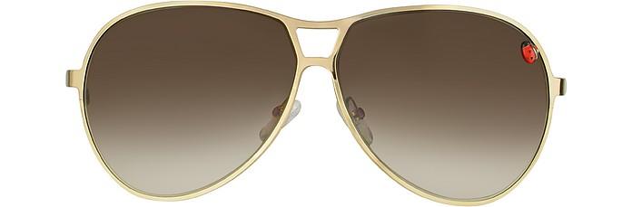 c1e0353aaca Dior Tiny - Ladybird Metal Aviator Sunglasses - Christian Dior.  297.00  Actual transaction amount