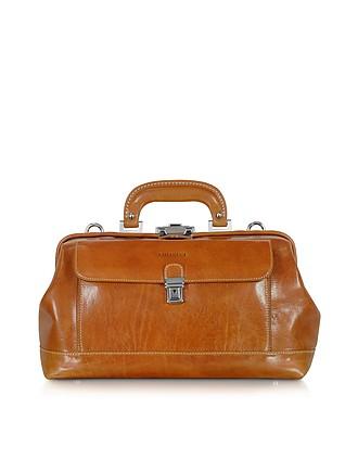 de97bc003a3e Handmade Cognac Leather Professional Doctor Bag…