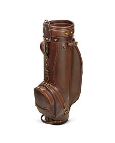 "Prestige 8"" Genuine Italian Leather Golf Bag - Chiarugi"