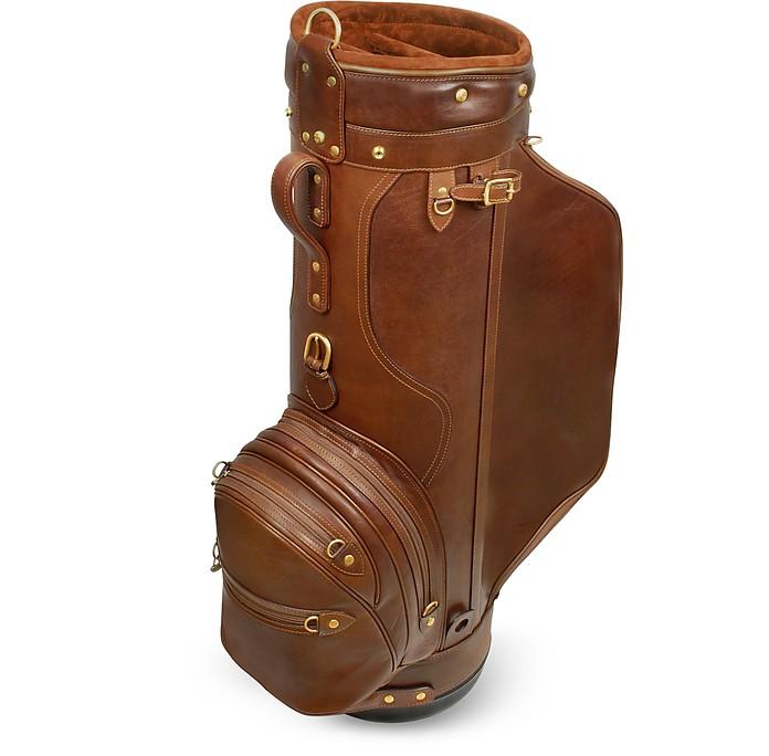 """Pro Staff 9.5"""" Golftasche aus echtem italienischem Leder - Pellevera"""