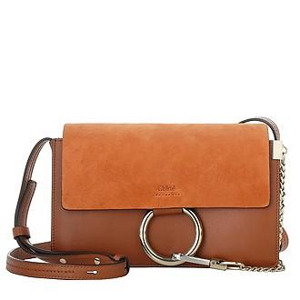 c8b1774ad1e0 Small Faye Bag Classic Tobacco - Chloe