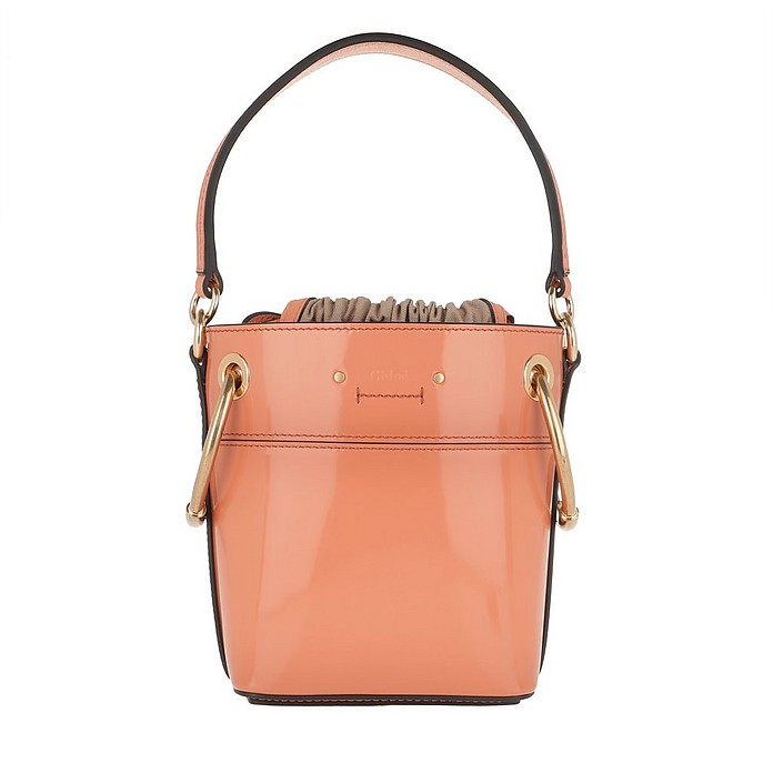 Roy Shoulder Bag Leather Canyon Sunset - Chloe