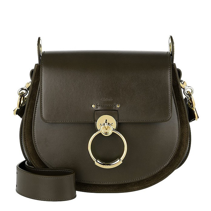 Tess Shoulder Bag Deep Forest - Chloe