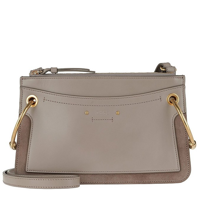 Roy Mini Shoulder Bag Motty Grey - Chloe / クロエ