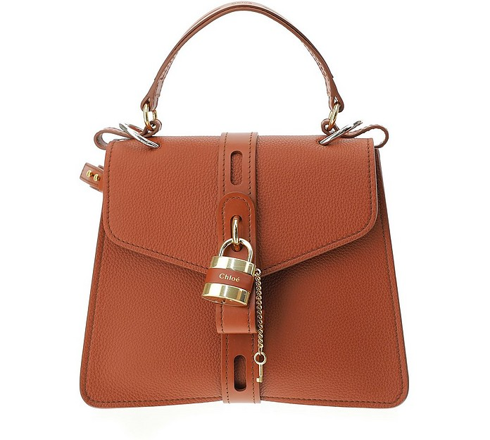 Grained Leather Small Aby Day Shoulder Bag - Chloé