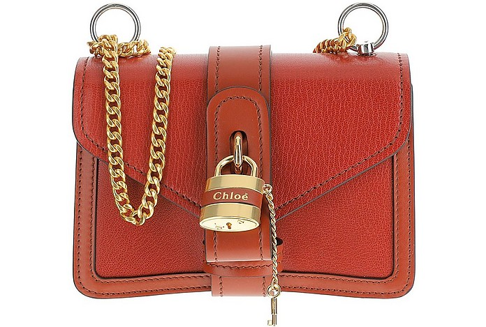 Brown Aby Chain Shoulder Bag - Chloé
