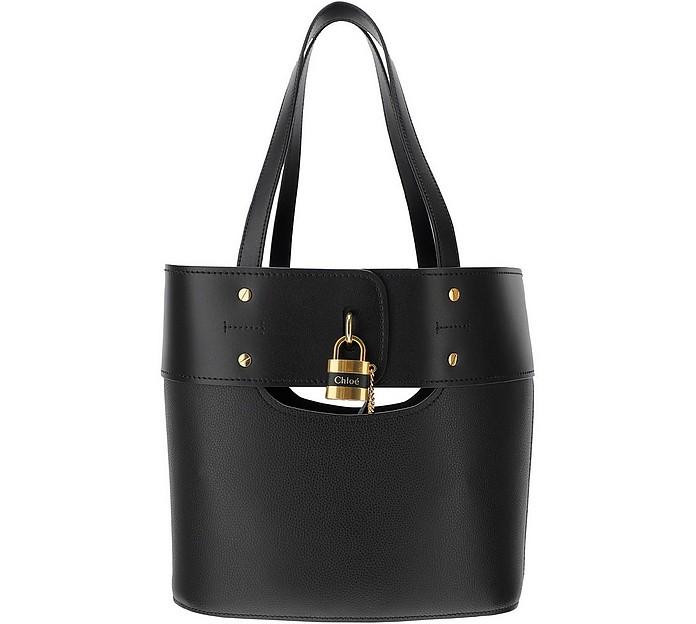 Black Aby Tote Bag  - Chloe