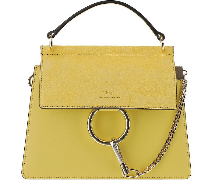 Bright Sun Yellow Faye Shoulder Bag - Chloe